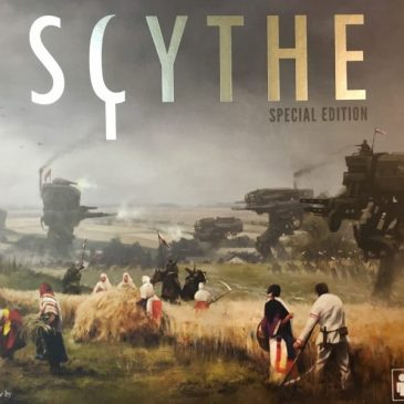 Scythe First Impression So Many MECHanisms. Heh