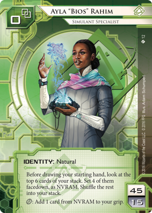 Anatomy Of A Netrunner Deck: Ayla Proudly Tier 2