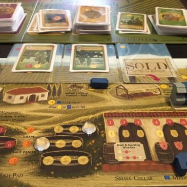 Viticulture: Essential Edition Review A European Blend With A Hint Of Luck