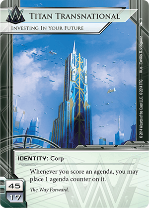 Anatomy Of A Netrunner Deck: Titan Fast Advance