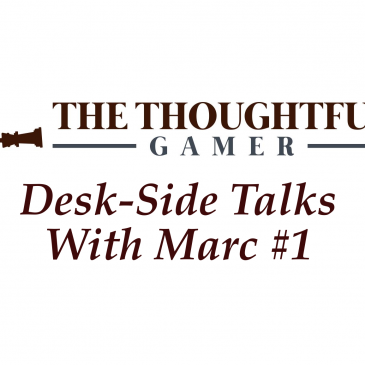 Desk-Side Talks With Marc #1 Come, Gather 'Round