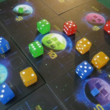 Quantum Review Dice In Space