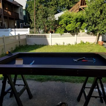 Game Table Build
