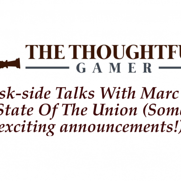 Desk-side Talks With Marc #5: State Of The Union (Some exciting announcements!)