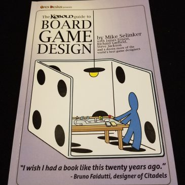 Book Review: The Kobold Guide To Board Game Design