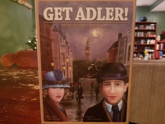 Get Adler! Deduction Card Game Review