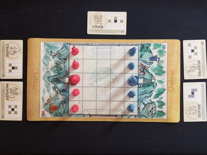 Onitama Review - The Thoughtful Gamer image