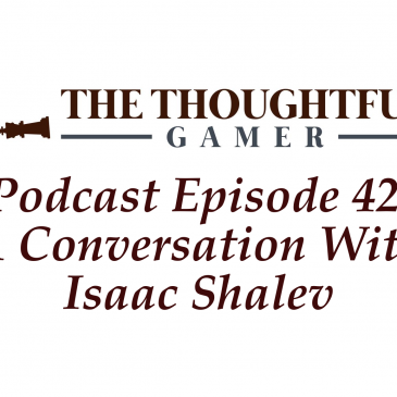 Podcast Episode 42: A Conversation With Isaac Shalev